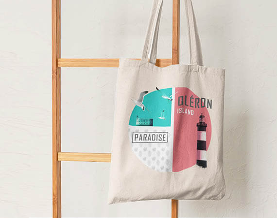 Totes bags made in Oleron